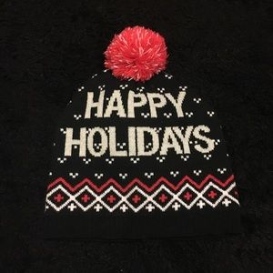 Accessories - Happy Holidays Hat